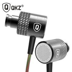 QKZ X3 Earphone Go Pro Earphones Metal In-ear Earphones Balanced Professional Bass in-Ear Headset DJ fone de ouvido