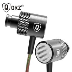QKZ X3 HD In-Ear Earphone HiFi Headset Special Edition Gold Plated Housing Double Drivers Noise Isolating High Sensitivity