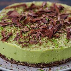Try this Avocado and Lime Cheesecake recipe by Chef Jasmine and Melissa Hemsley . This recipe is from the show Hemsley Hemsley - Healthy