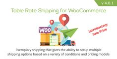 Table Rate Shipping for WooCommerce - https://codeholder.net/item/wordpress/table-rate-shipping-woocommerce