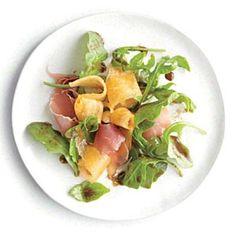 Italian Recipes: Arugula Salad with Melon and Prosciutto | CookingLight.com