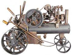 1907 Salesman's Sample Steam Engine.