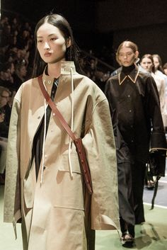 Phoebe Philo concentrated on wearability this season, in a collection defined by loose and relaxed silhouettes.