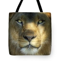 """Look into My Eyes Tote Bag 18"""" x 18"""""""