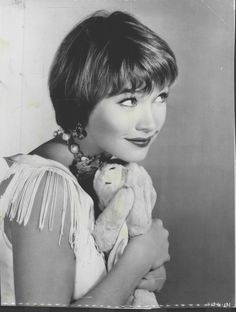 Shirley MacLaine.  Actress, dancer, writer and creative thinker, she's a fascinating woman.