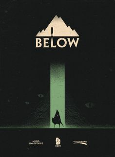 Below game poster.