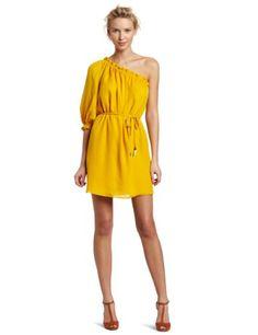 Alice & Trixie Women's Gianna One Shoulder Dress: Amazon.com: Clothing