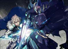 Saber (Sir Gwain) vs Assassin (Rey Hassan) - Fate/Grand Order