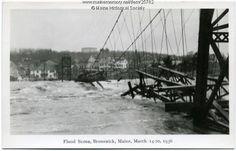 cabot mill brunswick maine | Maine Section Engineering Landmark Program