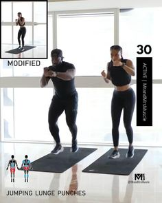 Fitness Workouts, Hiit Workout Videos, Full Body Hiit Workout, Hiit Workout At Home, Gym Workout For Beginners, Gym Workout Tips, Fitness Workout For Women, Workout Challenge, Fitness Motivation