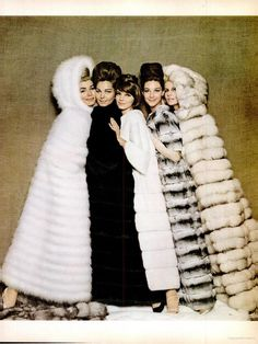 Fur Coat ad (1962)
