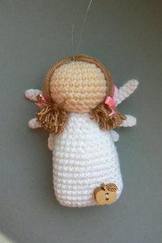 Crocheted angel | Fler.cz