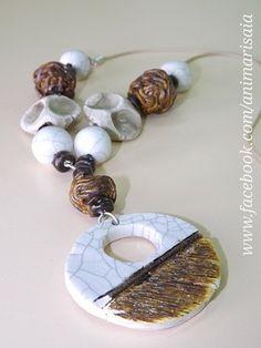 "Collana - Ceramic lab. RSA ""La Risaia"" - nursing home - www.facebook.com/animarisaia #rsa #casa di riposo"