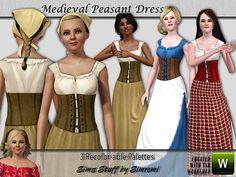 simromi's Medieval Peasant Dress ~ AF/YA