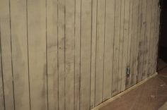Tips for priming and painting wood paneling.