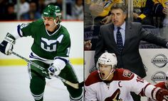 When NHL Coaches were Players  -  March 5, 2017:     DAVE TIPPETT:    Tippett starred in junior (Prince Albert) and college (North Dakota) hockey before being named captain of Team Canada for the 1984 Winter Olympics. Undrafted, he signed with the Whalers after the Games and spent 10 seasons in the NHL as a dependable, hard working two-way winger. Through seven seasons as head coach of the Arizona Coyotes, Tippett is 252-215-73.