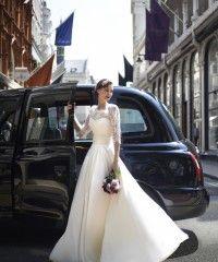Stephanie Allin 2014 Wedding dress style Margot with Selena Shrug
