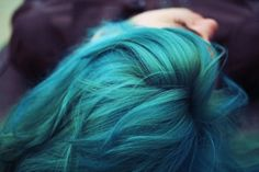 I would love to dye my whole head this color.