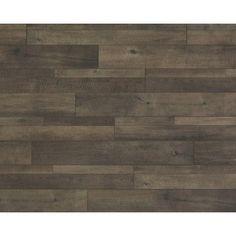 "FLOORS✅ Mannington Restoration 7.57"" x 50.5"" x 12mm Oak Laminate in Bronze"