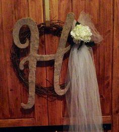 Bridal shower wreath