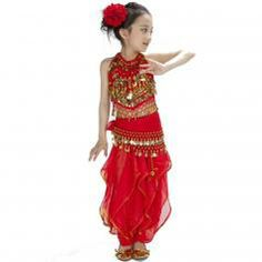 Pepper 5- piece Children Belly Dance Costume | ewoomall:for kids.