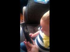Baby Talks to Telemarketer