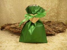 50 Alu Folientüten grün m. Deko 15cmx 25cm von SackundPack auf DaWanda.com