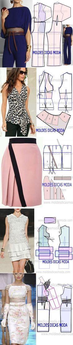 Sewing Dresses...♥ Deniz ♥ by amparo