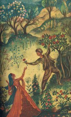 księga papugi, szancer World Of Fantasy, Arabian Nights, Book Illustrations, Neverland, Vintage Children, Magnolia, Fairy Tales, Mystery, Folk