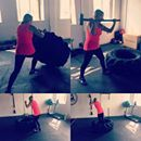 No tripping just flipping #tyre #flip #heath #fitness #gym #mintymoment #postholiday #work #sweat #workout #southampton