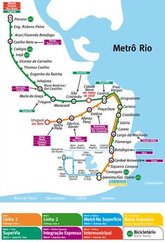 Sao Paulo Brazil Subway Map Subway Train Maps Pinterest