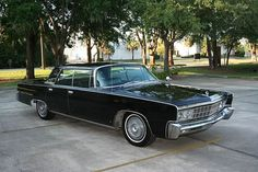 The Black Beauty started as a1966 Chrysler Imperial Crown.  It was 19 feet long and weighed in at almost 5000 lbs. Boss.