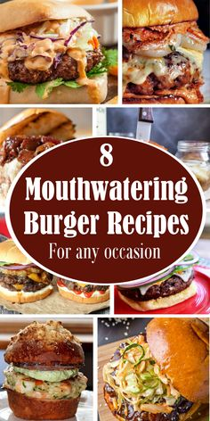 There is nothing moresatisfyingthan a delicious, mouthwatering burger. Here are 8 recipes to up your burger game and make the best b...