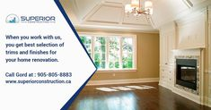 We are a qualified Home Renovation Service provider in Toronto, Thornhill, Richmond hill and North York. Call us to get Home Renovation Service North York & Markham. North York, Home Renovation, The Selection, It Is Finished