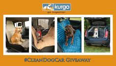 Win your choice of car seat covers to protect your car this summer in the Kurgo #CleanDogCar giveaway! http://www.dogtipper.com/giveaways-contests/2015/06/win-a-kurgo-car-seat-cover-in-the-cleandogcar-giveaway.html