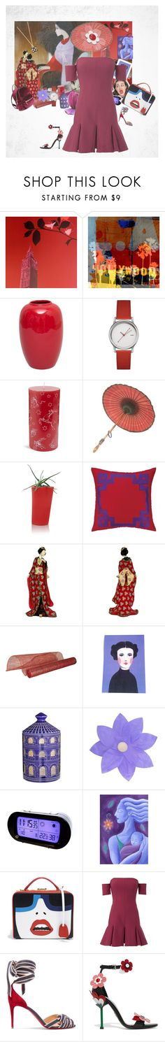 """""""Geen titel #33747"""" by lizmuller ❤ liked on Polyvore featuring DUY, The Artwork Factory, Lancel, Alessi, Lord & Taylor, B-Line, Nanette Lepore, Improvements, Fornasetti and LumaBase"""