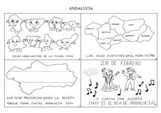Trabajando en Educación Infantil: 10 poesías para el Día de Andalucía Spain Holidays, Andalusia, Seville, Trip Planning, Travel, Teaching, Art, Social Science, Spanish Classroom