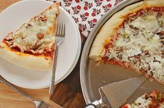 Chicago-Style Deep-Dish Pizza.  This one is going in my recipe file.