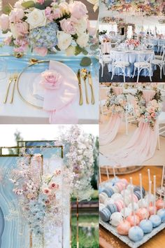 20 Light Blue and Blush Pink Wedding Colors for Spring Summer 2020 light baby blue and blush pink wedding color ideas Baby Blue Wedding Theme, Blue And Blush Wedding, Pink Wedding Colors, Wedding Color Schemes, Gold Wedding, Diy Wedding, Wedding Flowers, Pink Wedding Centerpieces, Wedding Decorations