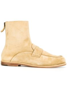 LOEWE Loafer Ankle Boots. #loewe #shoes #flats
