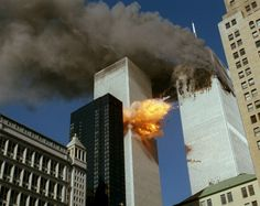 9/11/2001 ~ 9:03 a.m. Flight 175 ~ Originated at Logan International Airport [Boston] and destined to LAX crashed into 2 WTC between floors 77 and 85.