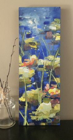Available Artwork — Jill Van Sickle Abstract Canvas Art, Diy Canvas Art, Oil Painting Abstract, Long Painting, Acrylic Painting Flowers, Abstract Flowers, Art Auction Projects, Creative Art, Flower Art