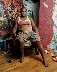 Kehinde Wiley, you are awesome!