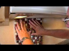 TEC products: How to Install Kitchen Backsplash - YouTube