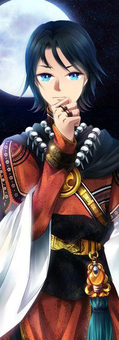 Oriental Style Tim Drake aka Red Robin