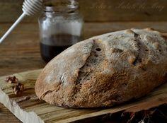 Pane+al+miele+di+castagno+e+noci