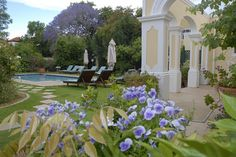 """Situated in the picturesque Oak-lined""""Avenue""""in the historical town of Stellenbosch,the River Manor Boutique Hotel,with its national monument status,is a mere 2minute stroll from the Stellenbosch village centre with its many museums,street cafés  http://www.south-african-hotels.com/hotels/river-manor-boutique-hotel-and-spa/"""