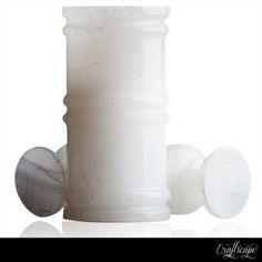 #White #trendy #marble #Vase Price: $87.29
