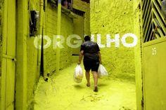 #Luz na viela #color #favela