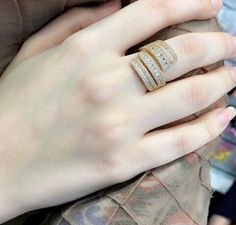 Gold Rings Jewelry, Jewelry For Her, Stylish Jewelry, Jewelery, Jewelry Accessories, Jewelry Design, Gold Jewellery, Fashion Rings, Fashion Jewelry